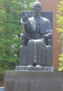 Ven. Pius XII Statue